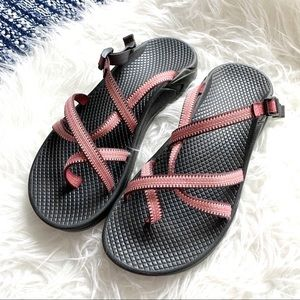 Chacos sandals backless adjustable strappy shoe